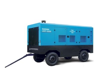 柴油移動螺桿空氣壓縮機