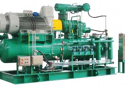 工业冷冻及热泵应用螺杆压缩机组