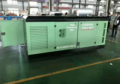 KSZJ水井专用高风压螺杆空压机